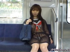 Mikan Lovely Asian coed - 06:07