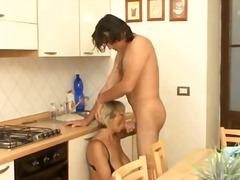 Blonde Anal Mature
