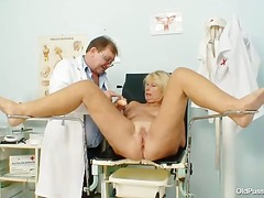 dildo, mature, doctor,