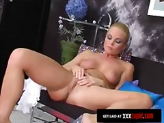 orgasm, tease, masterbation, blonde,