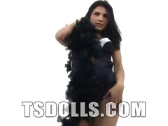 Naughty tranny Jessica... video