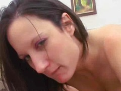 facial, milf, brunette, mature,