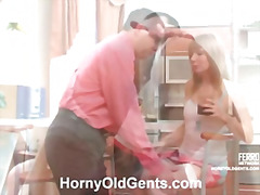 Alice&Leonard oldman sex movie