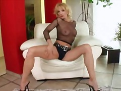 Blonde matures love anal