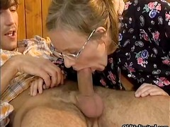 Horny housewife goes c... video