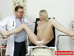 Keez Movies Movie:Slim blonde Mia Hilton kinky v...