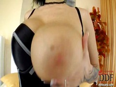 Busty female Domino ge... - Yobt TV