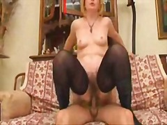 Hot Hairy Mature and f...