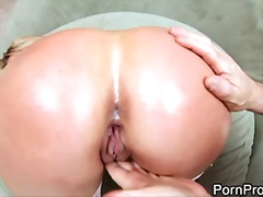 pornstar, big tits, couple, facials