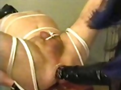 anal, strapon, latex,