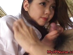 Ai Niimura Sexy Asian nurse likes her patient