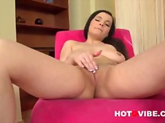 Nicole Strips And Fingers video