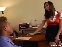 Thumb: Sexy secretary Holly M...