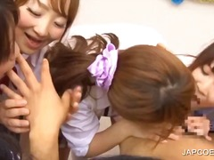 Thumb: Asian teens licking a ...