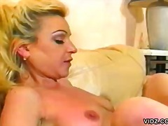 Blonde chick Mila swal... preview