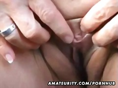 cumshot, mom, outdoor, real, blowjob,