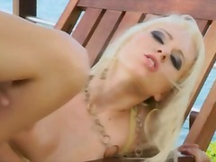 carla cox,  blondes, ca, interracial