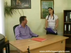 Teen secretary makes h... video