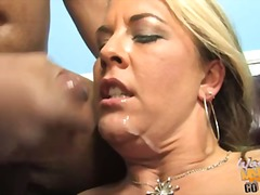 Jocklyn stone mamma filled with cum and her son see
