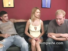 Cuckold blowjob shames... video
