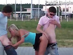 public, dick, girl, young, teenager,