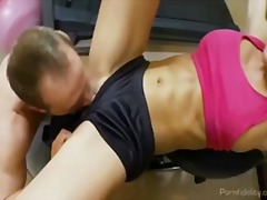 Hot Fitness Slut Fucked In The Gym