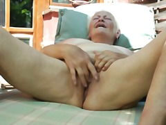 grannies, masturbation, fingering