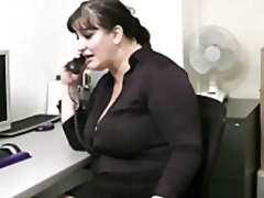 Huge bitch is fucked b... video