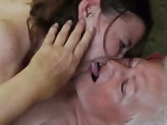 Xhamster - Granny Teaching How to be Lesbian 2
