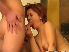 Sex with Russian mommy - Tube8