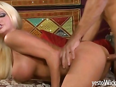 H2porn Movie:Huge busted blonde pornstar Ni...
