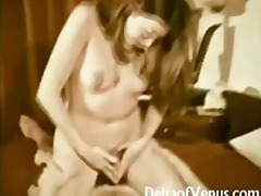vintage, brunette, big-cock, natural,
