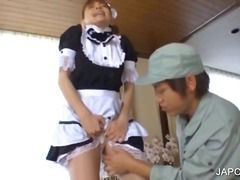 Japanese maiden plays ...