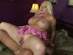 Awesome sex nymph Jannet has drilled and intercoursed