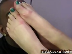 Naughty feet whip out ... video