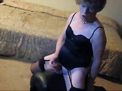 Mature CD is dirty slut