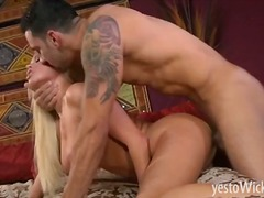 Huge busted blonde pornstar Nikita Vo...