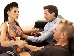 Double teaming Rebeca ... video