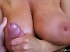 Kelly Madison jerks off pe... - 04:00