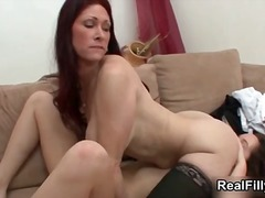 Horny young and mature lesbians go crazy part5