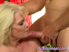 Cock hungry mature MILF
