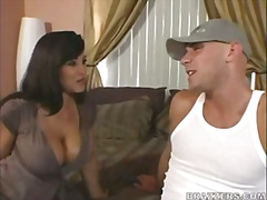 Lisa Ann enjoys a young stud
