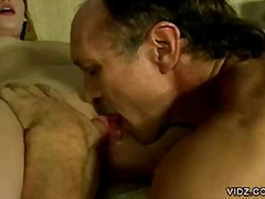 Nasty stud educates bitch on hot sex