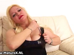 masturbation, stockings, blonde,