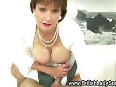 handjob, british, bigtits, mature,