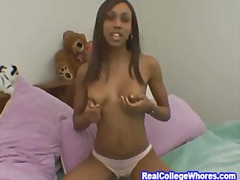 College Ebony Awesome ... video