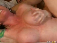 mature, riding, redhead, blowjob