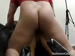 office, creampie, blonde, mom, big-tits,