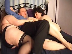 milf, bbw, threesome, nylon,