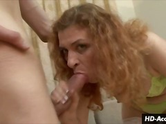 Elegant MILF gives rough and ready bl...